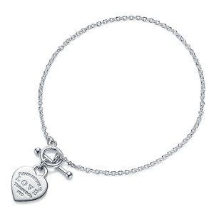 Return to Tiffany & Co. heart toggle bracelet-NEW!
